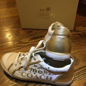 Coach women's size 7 sneaker
